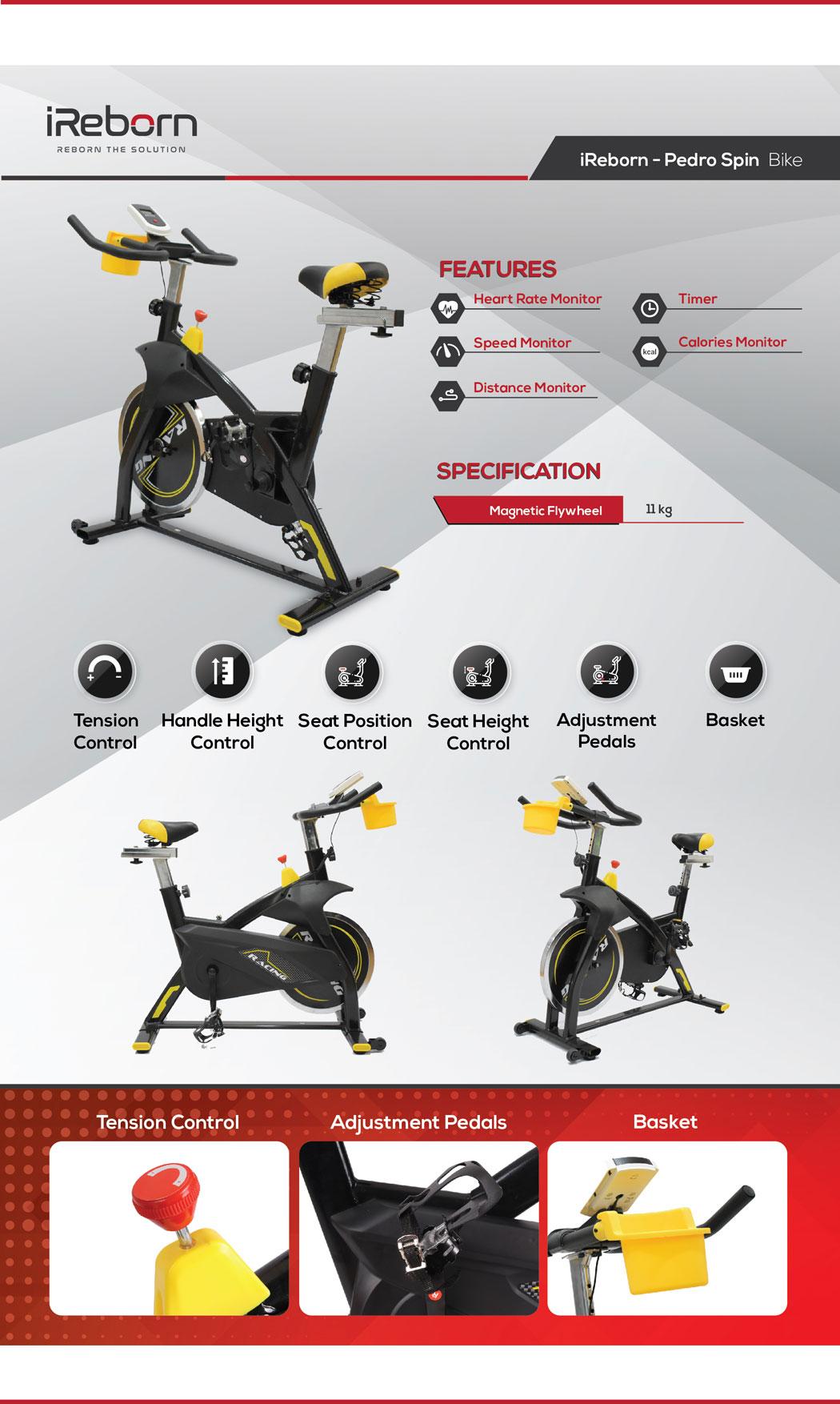Pedro Spin Bike 26