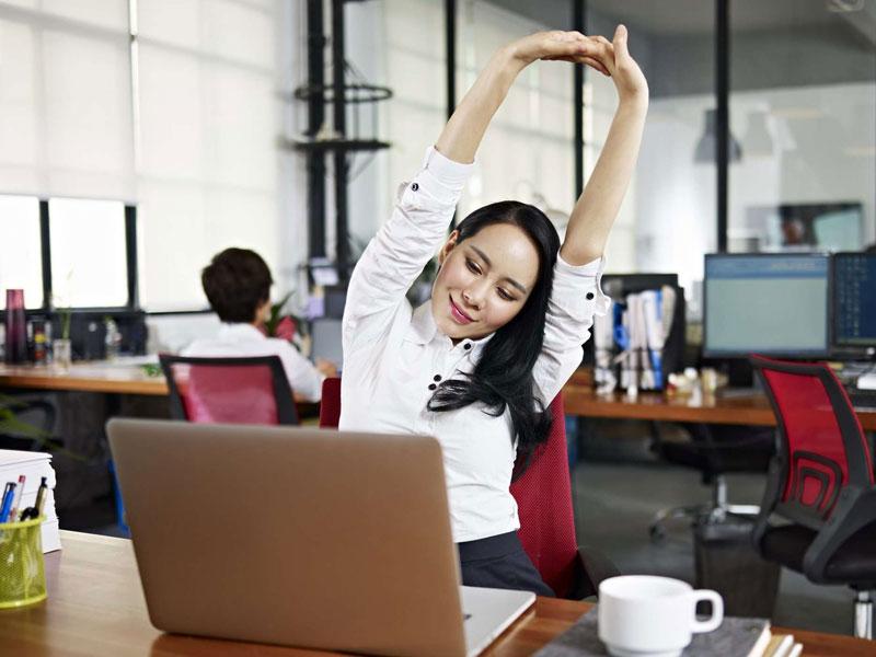 Bisakah Berolahraga Di Kantor? 1