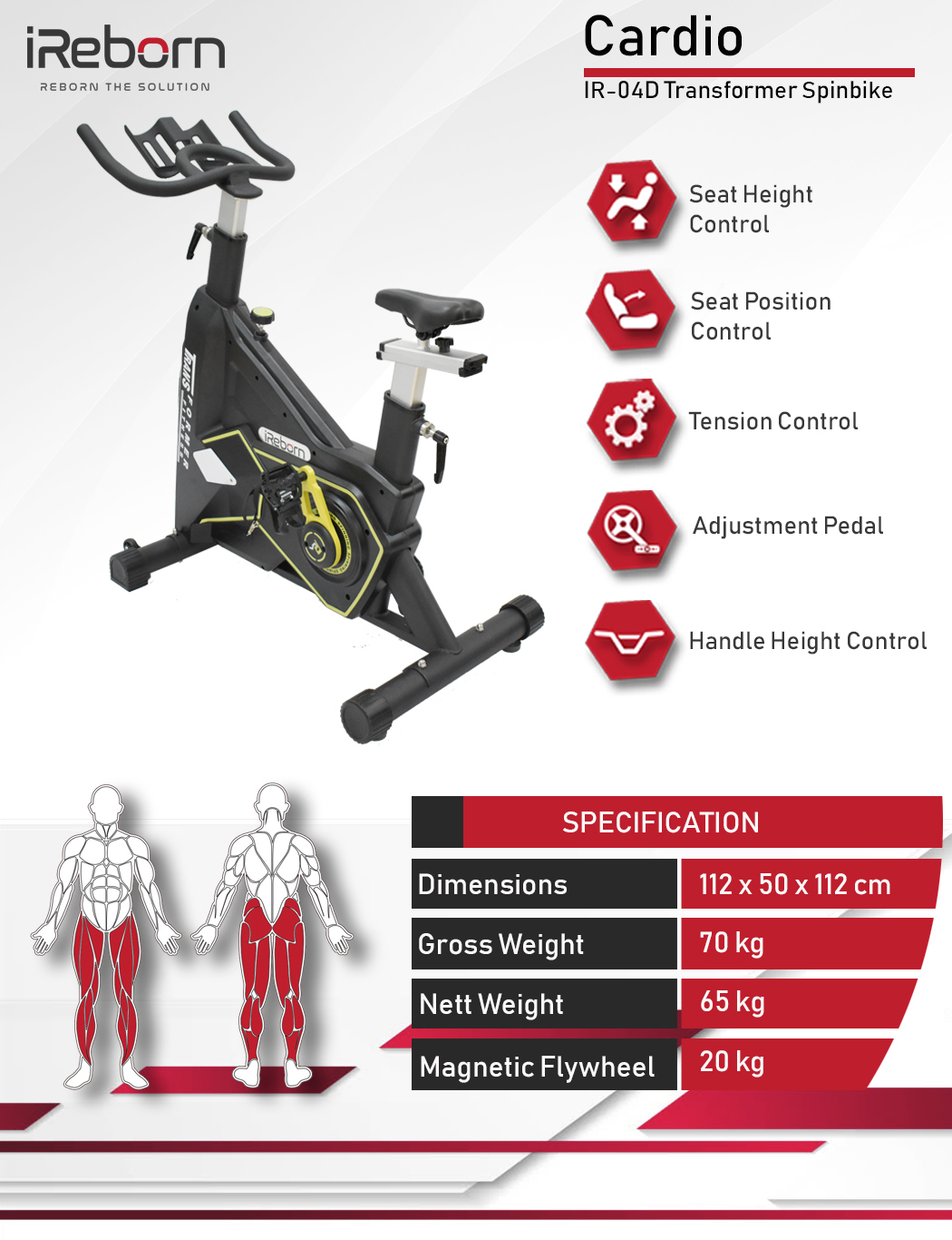 IR-04D Transformer Spinbike 22