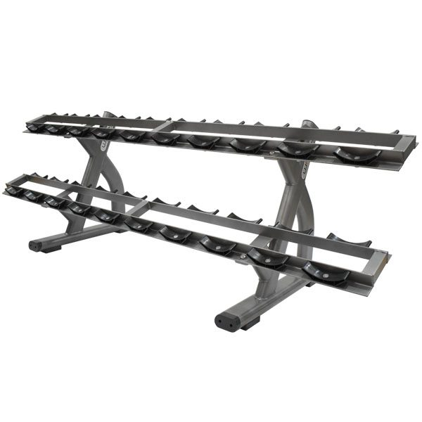 IR-49FF Two Layers Dumbbell Rack 1
