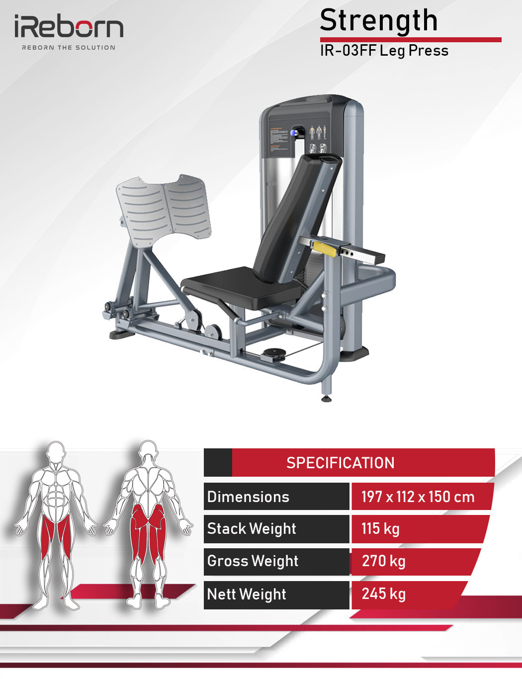 IR-03FF Leg Press 10
