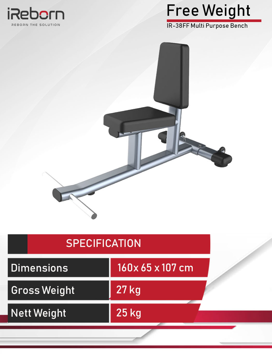 IR-38FF Multi Purpose Bench 8