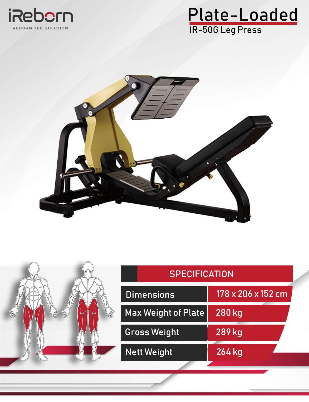 IR-50G Leg Press 10