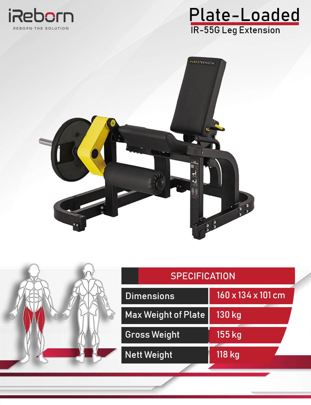 IR-55G Leg Extension 10