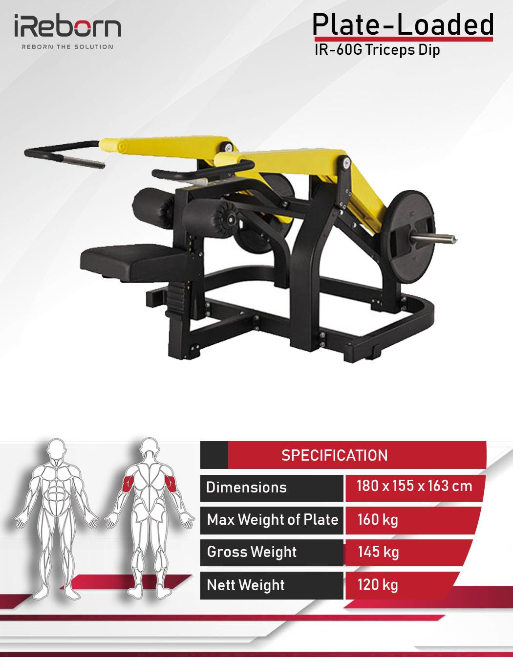 IR-60G Triceps Dip 10