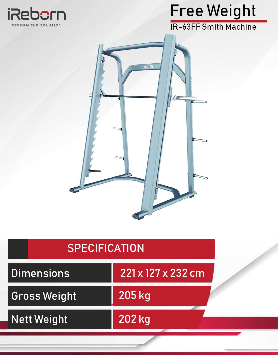 IR-63FF Smith Machine 10