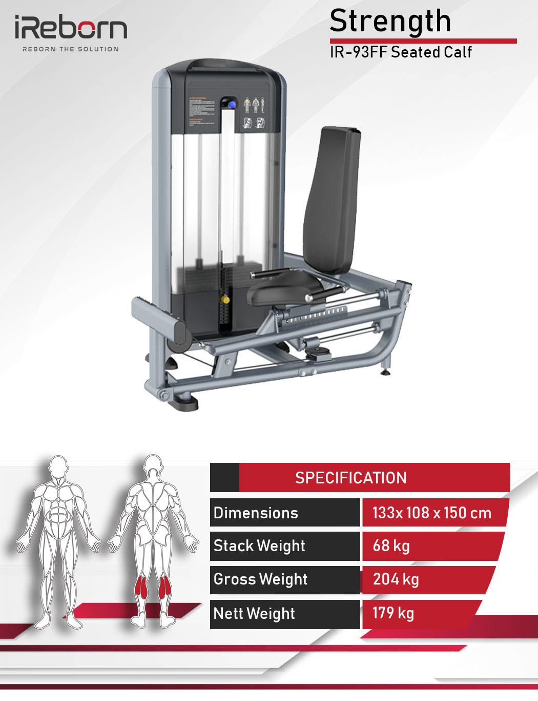 IR-93FF Seated Calf 10