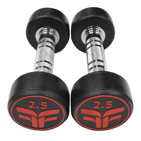 Rubber Dumbbell 2