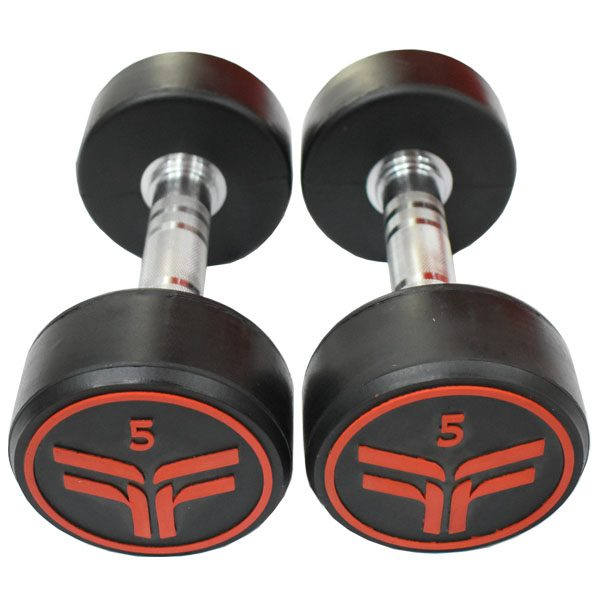 Rubber Dumbbell 3