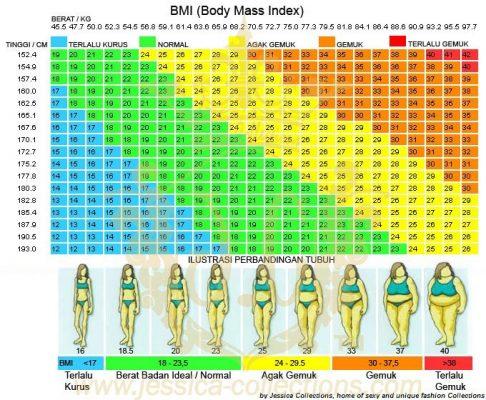 Berapa Berat Badan Ideal Untuk Tinggi Dan Umur Saya? 2