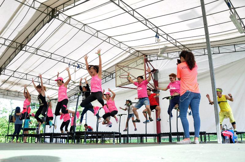 Manfaat Trampoline Olahraga Seru Yang Bikin Langsing! 6