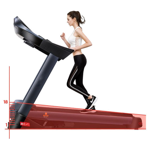 X9 Motorized Treadmill 6