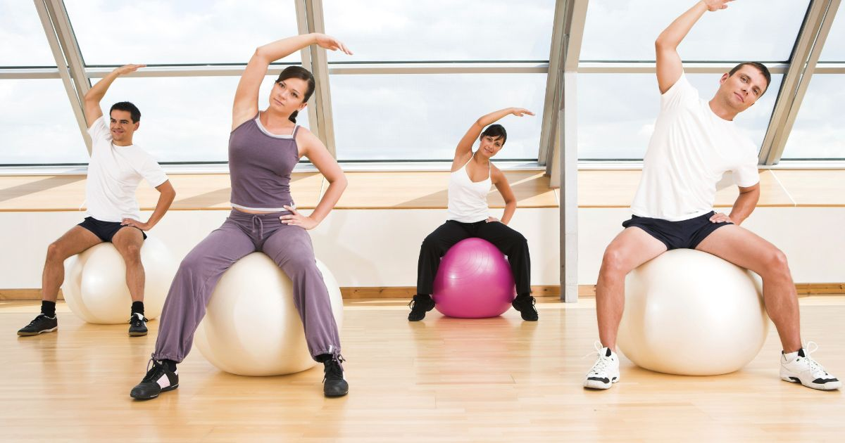 4 Latihan Sederhana Dengan Gym Ball | iReborn