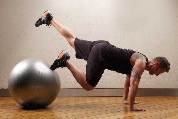 4 Latihan Sederhana Dengan Gym Ball 3